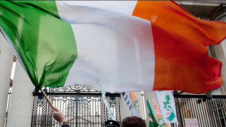 De Ierse vlag Beeld Photo News