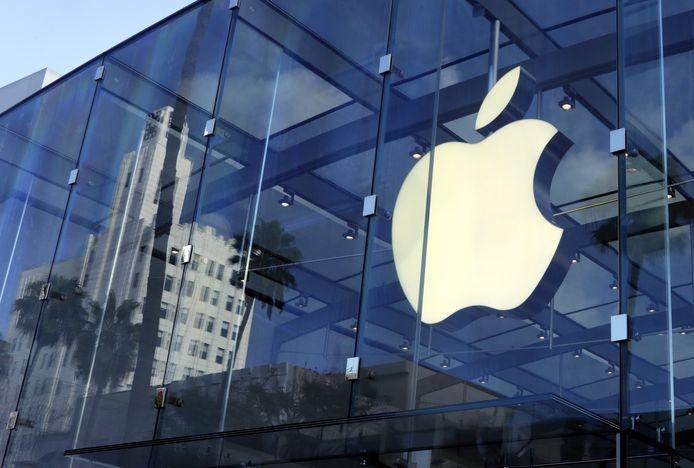 Een Apple-winkel in Californië.