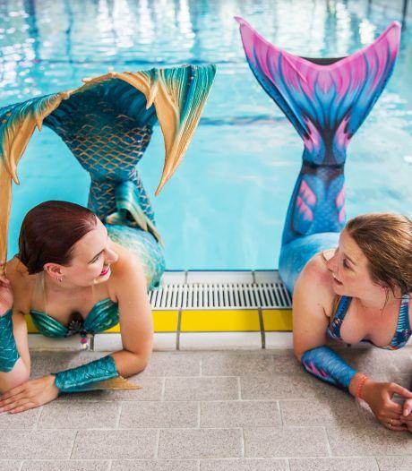 Meerminzwemmen is onderwaterballet met staart