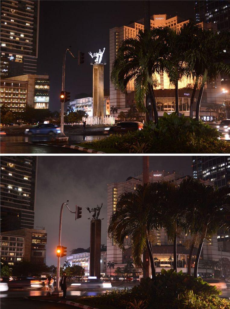 De Indonesische hoofdstad Jakarta. Beeld afp
