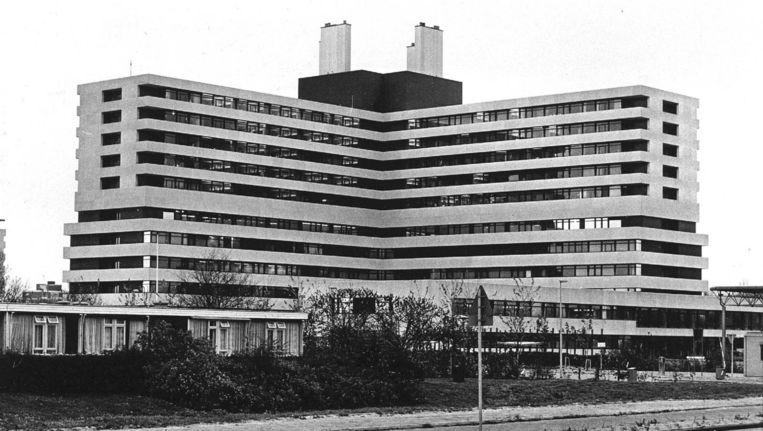 Het Slotervaartziekenhuis in de jaren zeventig Beeld anp