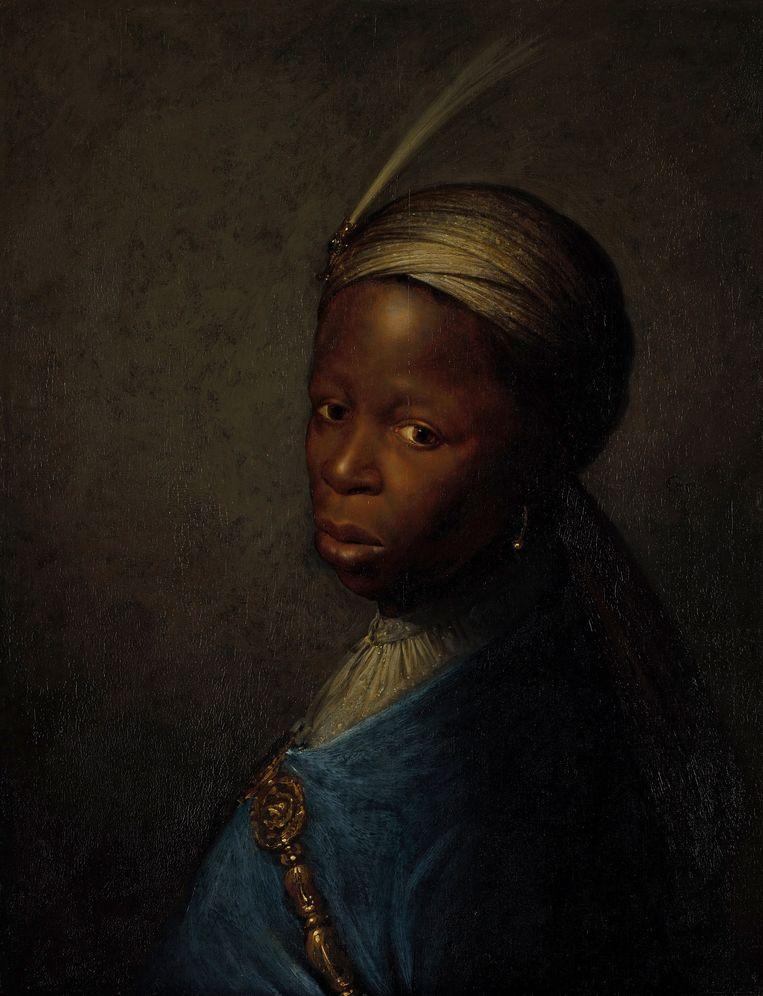 Gerrit Dou, 'Tronie van een jonge zwarte man', circa 1635. Beeld Niedersächsisches Landesmuseum, Hannover