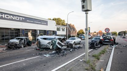 Zestiger die 13 voertuigen ramde in Houthalen-Helchteren herinnert zich niets van dolle rit