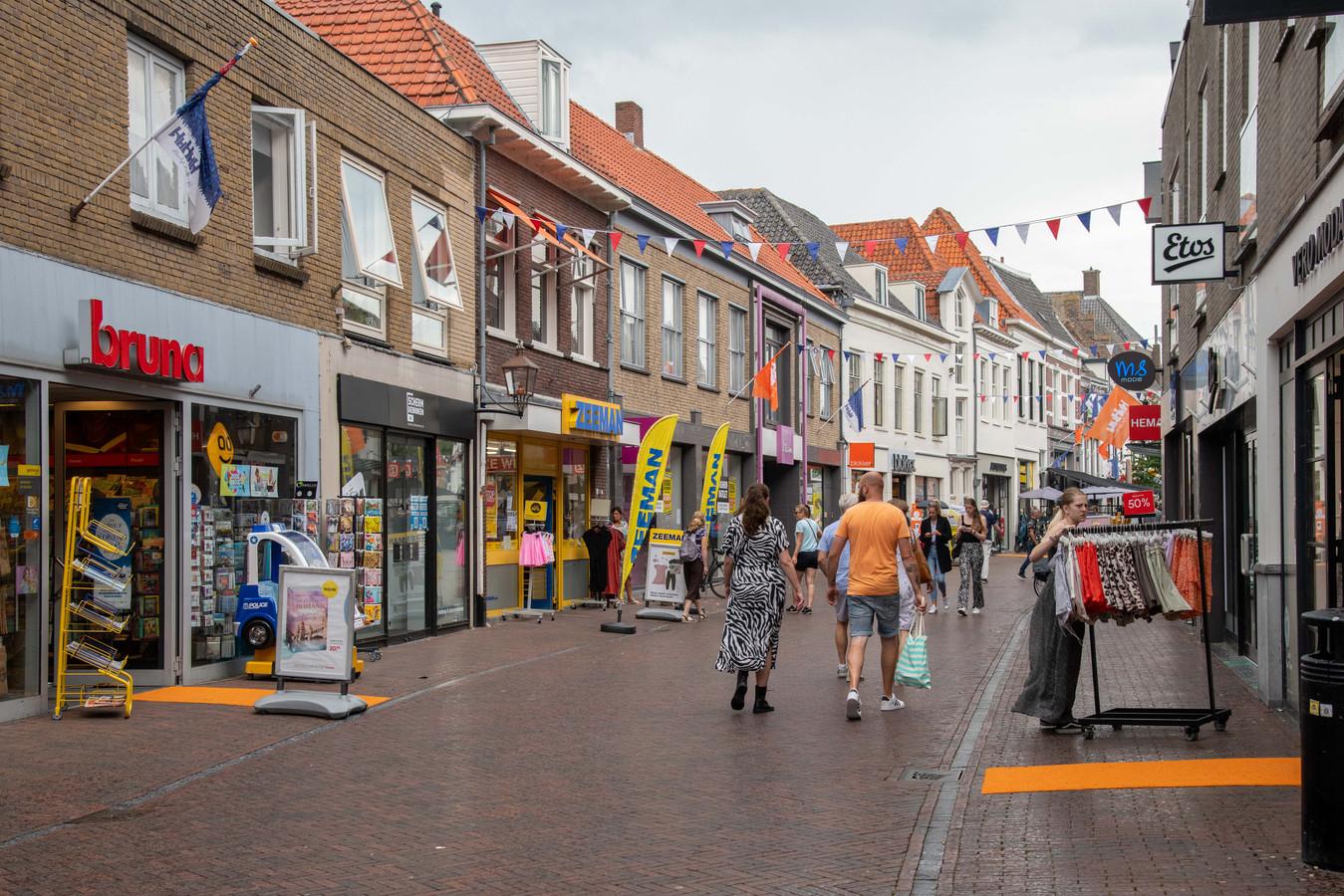 Koopzondag in Harderwijk.