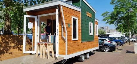 Tiny house op wielen trekt door Meierijstad voor advies over energiebesparing