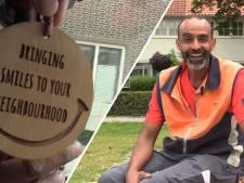 Smiley is de vrolijkste pakketbezorger van Eindhoven