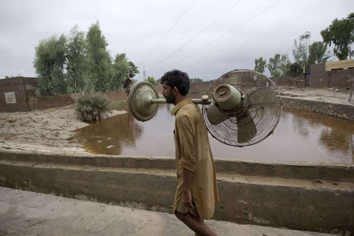 Foto van Verschrikkelijke overstromingen in Pakistan