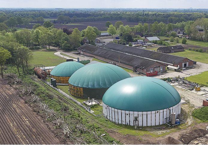 Het voormalige BioSpares-terrein in Nistelrode.