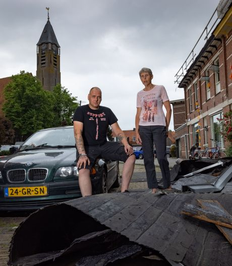 Windhoos treft Kampen: 'Als je hier had gelopen, was je dood geweest'