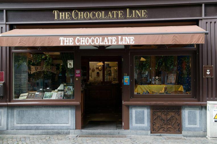 The Chocolate Line.