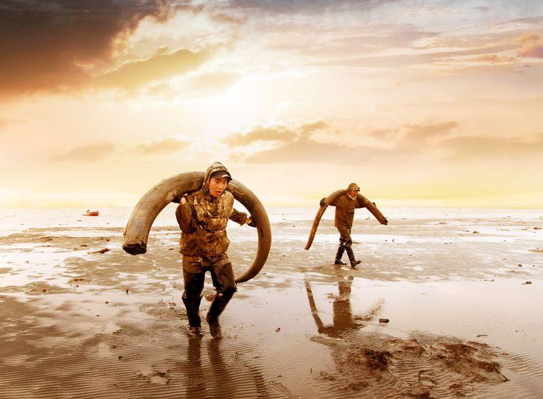 Evgenia Arbugaeva, Mammoth Tusk Hunters, 2018 Beeld Hollandse Hoogte / Everett Collection, Inc.