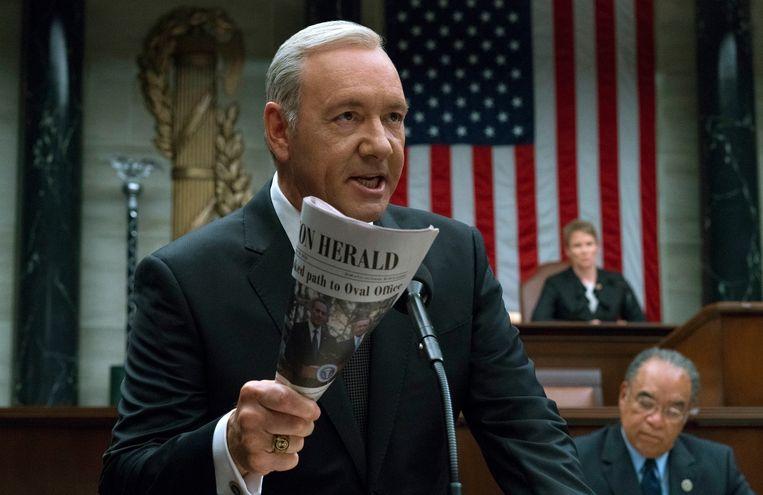 Politiek-drama over het Witte Huis, House of Cards.  Beeld AP