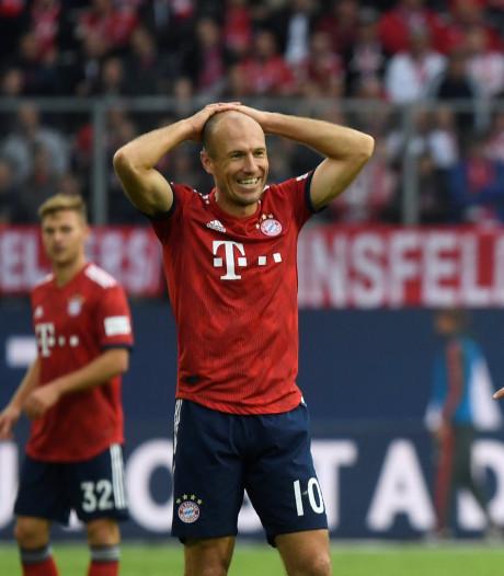 Bayern smoort crisis ondanks rood Robben en treffer Weghorst