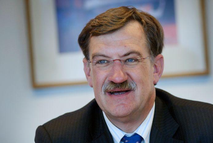 Burgemeester Henk Hellegers van gemeente Uden.