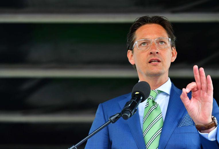 Joost Eerdmans, partijleider van Leefbaar Rotterdam Beeld ANP