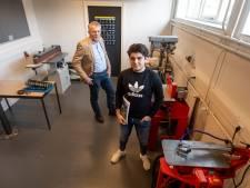 Leerlingen Het Erasmus helpen bouwbureau uit Wierden bij ontwikkeling van waterstofhuis: 'Waterstof is de toekomst'