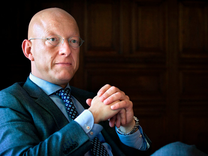 Burgemeester Maarten Houben