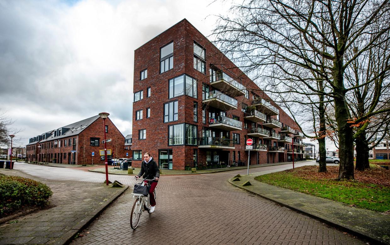 De buurt Kroon op Jutphaas in Nieuwegein, opgeleverd in 2017, heeft veel eigenschappen van Beng. Beeld Raymond Rutting / de Volkskrant
