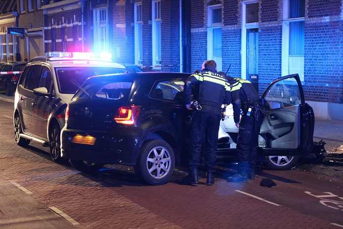 Heftige achtervolging in Eindhoven