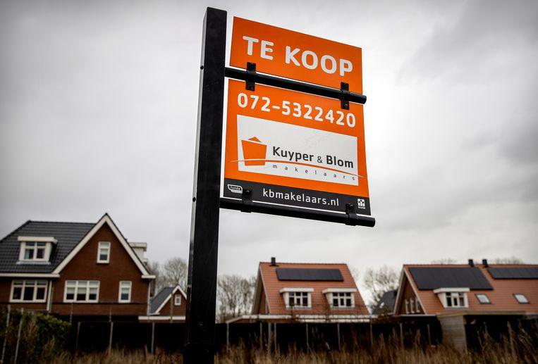 Volgens De Hypotheker is een aflossingsvrije hypotheek gezien de huidige lage rentestand een steeds interessanter alternatief.  Beeld HH, ANP