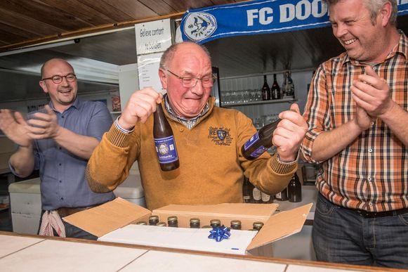 Albert Vancolen is sinds 1 juli erevoorzitter. Hij gaf de fakkel door aan Frank Rutsaert. Vorig jaar werd hij nog uitgebreid met zijn eigen biertje, het 'Alberke'.