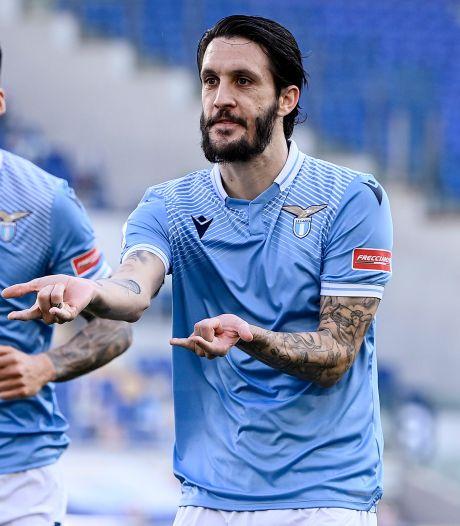 Geschorste Hoedt ziet Lazio winnen van Sampdoria