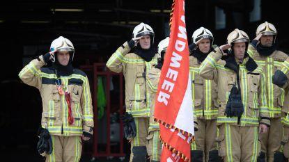 Antwerps eresaluut aan gestorven brandweermannen