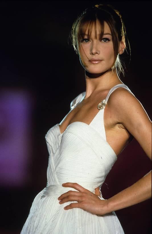 Carla Bruni in 1995.