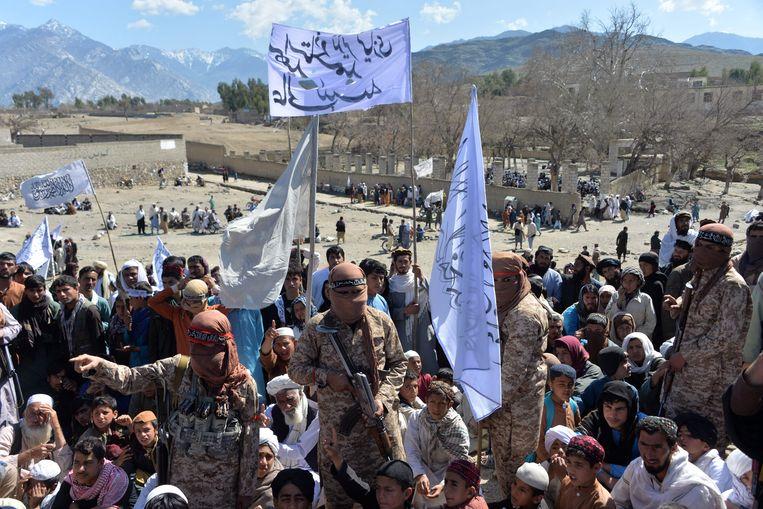 Taliban in Afghanistan. Beeld AFP