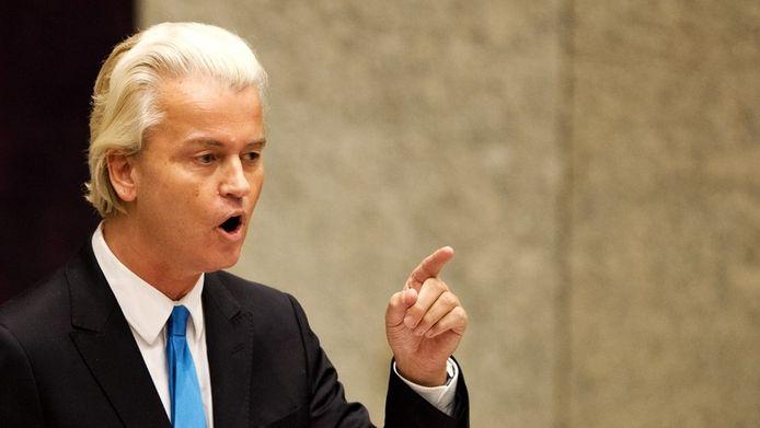 Wilders haalt uit tijdens de Algemene Beschouwingen van vandaag