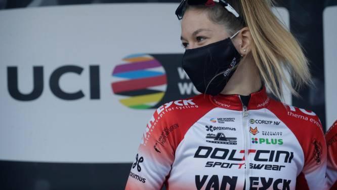 """Mieke Docx startte toch in Luik-Bastenaken-Luik: """"Ik heb afgezien, maar het was een nuttige ervaring"""""""