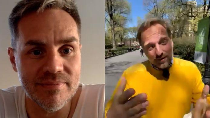 Peter Van de Veire en onze man in New York