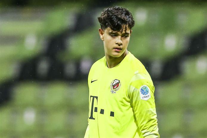 Ahmed Azmi keepte één wedstrijd voor Jong FC Utrecht, op 3 november 2020 hield hij de nul tegen FC Dordrecht (0-3).