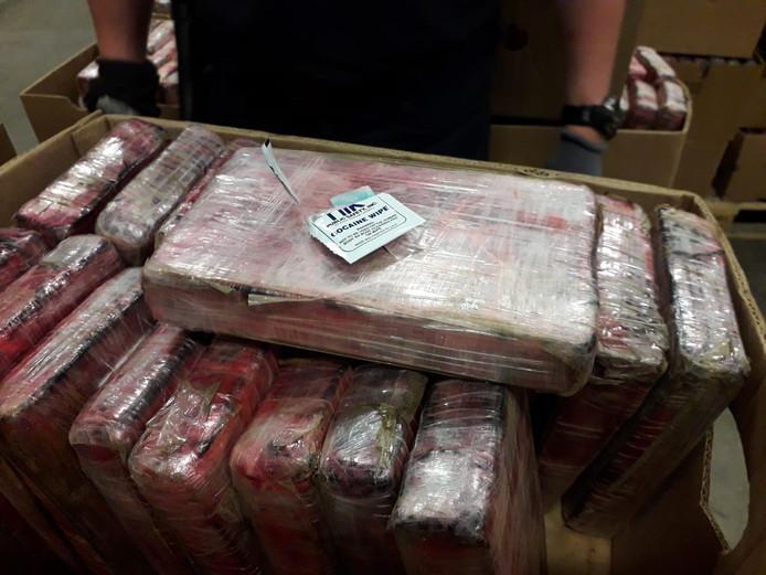 De vondst van 1,3 ton cocaïne.