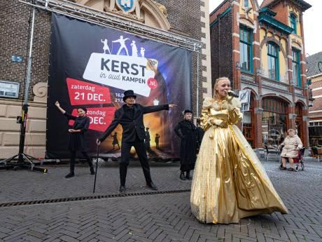 Met jubileumparade moet Kerst in Oud Kampen door de magische grens van 100.000 bezoekers gaan