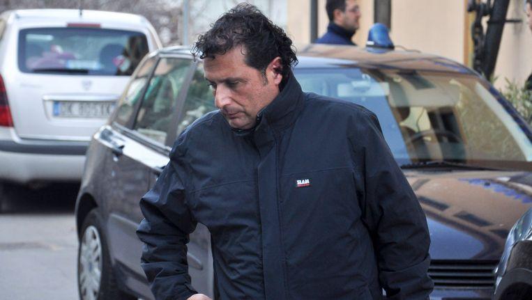 Kapitein Francesco Schettino. Beeld AP
