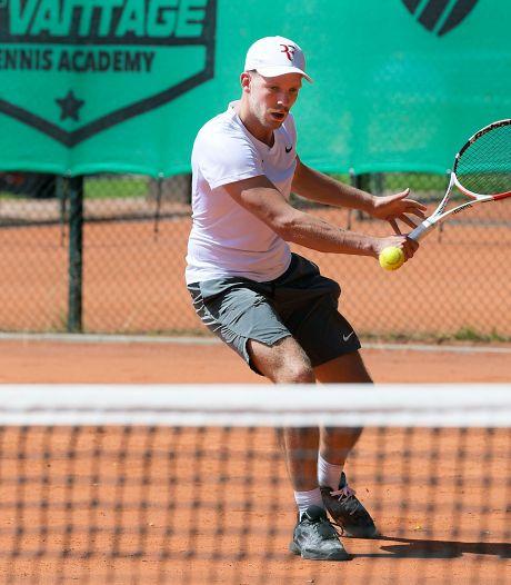 Reuring op de tennisparken is terug: 'Het is heerlijk om weer toernooien te kunnen spelen'
