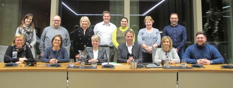 De raad van bestuur van het AGB stad Deinze.