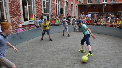 Voetbalkooi SLO Mariadal ingespeeld