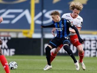 """Ewoud Pletinckx en Zulte Waregem beleven moeilijke namiddag in Brugge: """"Afgezien tegen Noa Lang"""""""