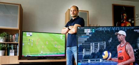 Is sportmaffe Humphry (38) de fanatiekste fan van Olympische Spelen? 'Ik kijk op vier schermen tegelijk'