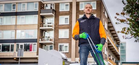 Gefrustreerde Roger stopt met puinruimen in Crabbehof: 'Ik heb er een traantje om gelaten'