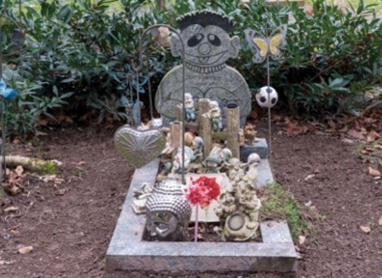 Het graf voor de onbekende baby. Beeld Politie