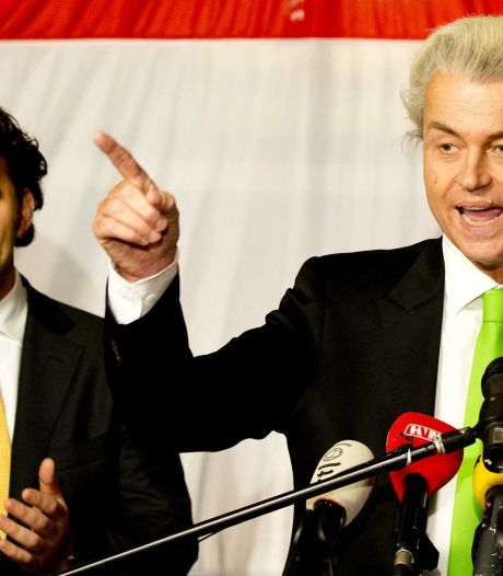 PVV'ers scanderen: minder Marokkanen