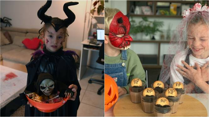 """Voor deze fans is Halloween een groot feest: """"Prinsessen? Nee, ik hou van spinnen en heksen!"""""""