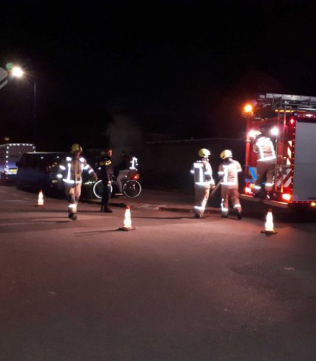 Brand in ondergrondse vuilcontainer in Zierikzee