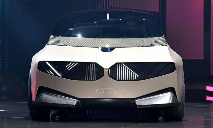 De BMW i Vision Circular op het autosalon IAA in München.