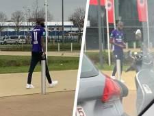 Lamkel Zé débarque au Bosuil avec un maillot... d'Anderlecht