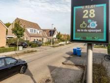 Goed rijgedrag levert geld op voor goede doel: speciale snelheidsmeter bij school in Waalwijk
