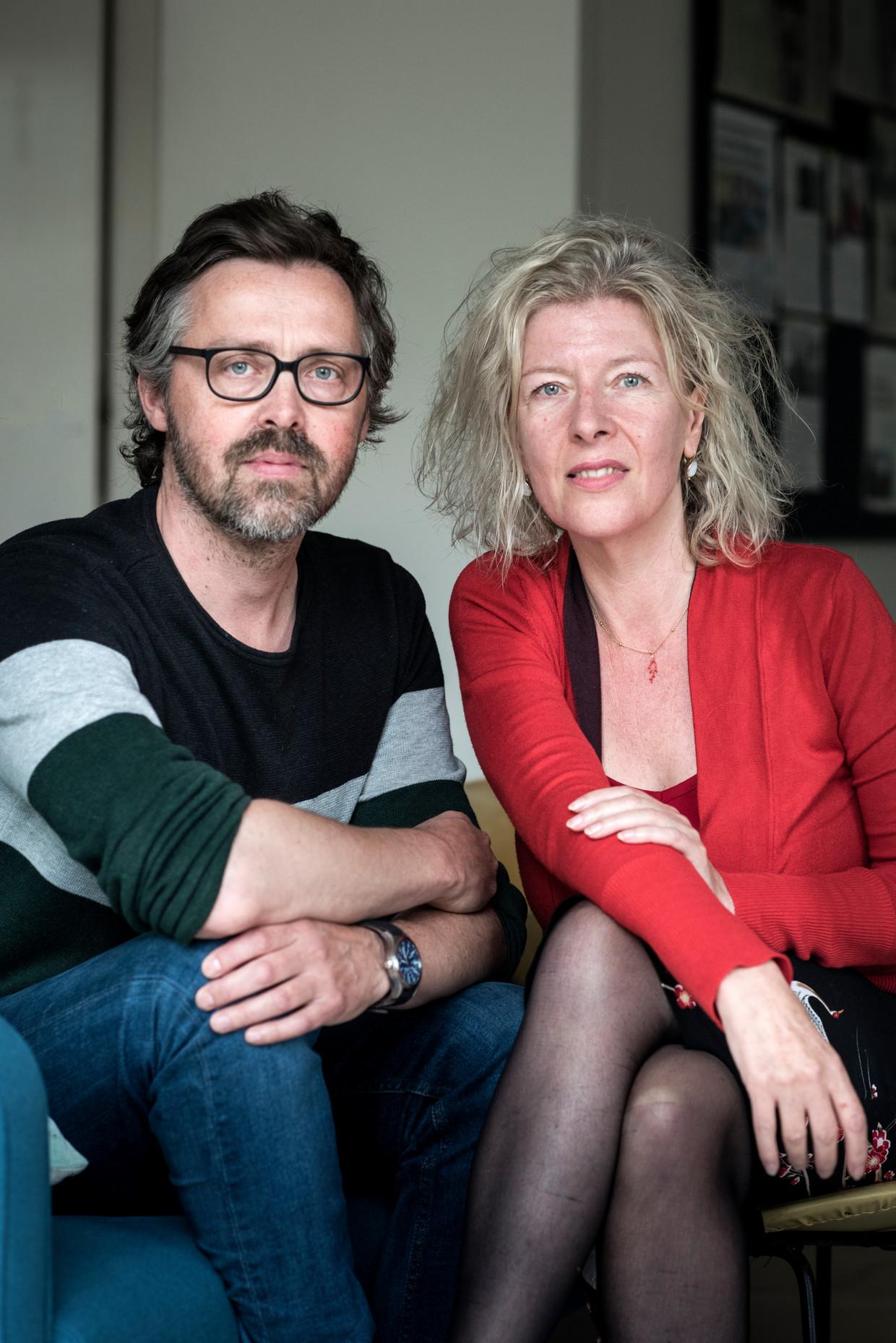 Menno Visser en Julia von Graevenitz.  Beeld Linelle Deunk